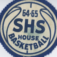 64-65 SHS House Basketball badge