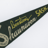 Shawnee Country Fair - Boosting Shaunavon, Sask flag