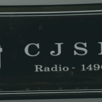 """CJSN Radio - 1490"" ashtray"