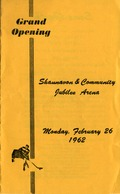 Grand Opening Shaunavon & Community Jubilee Arena, Monday February 26, 1962
