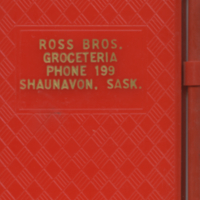 Ross Bros. Groceteria [notebook with crayon]