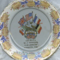 1914-1918 Peace, Nov. 11th, 1918 [commemorative plate]