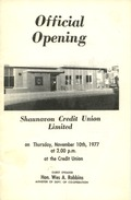 Official Opening: Shaunavon Credit Union Limited