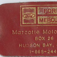 Marcotte Motors key chain