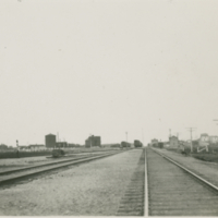 [Railroad tracks at Hudson Bay]