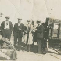 1935 - Dad, Mac, Bill, Finnely