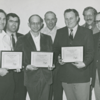 [Five Year Safety Award recipients]