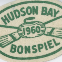 Hudson Bay Bonspiel 1960 badge