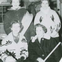 [Women's curling team]