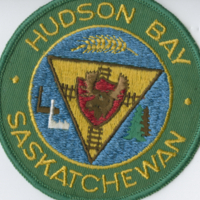 Hudson Bay Saskatchewan badge