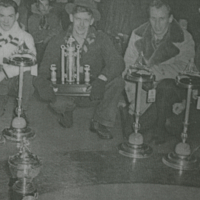 1952 A Club Champions - ?, Alan Anderson, Scotty Walker, Mr. England