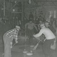 Grand Aggregate 1953 Hudson Bay Curling Rink