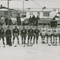 Outdoor Rink 1950s Main St. Approx location of current pool