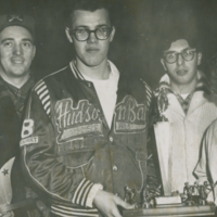 1962 Mixed Bonspiel Winners Mel Hooper, Stu Carter, Robert Gogol, Betty Lou Anderson