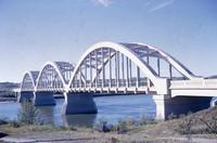 Close Up of Borden Bridge, Sask
