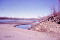 Dried Up South Sask River Bed