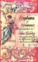 Diploma of Honour