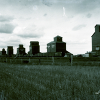 [Grain elevators at Indian Head]