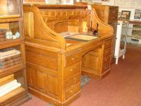 Angus McKay's rolltop desk
