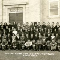 Indian Head Collegiate Institute  April 1937 (front)