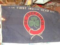 "Boy Scout Flag ""The First Indian Head Coy. - Be Prepared"""