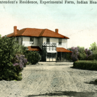 Superintendent's Residence, Experimental Farm, Indian Head, Sask.