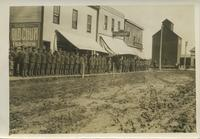 WWI Recruits in Rosetown