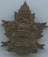 [65th Saskatchewan Overseas Battalion Pin]