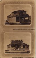 The Canadian Bank of Commerce and Cottage Hospital, Lashburn, Sask.