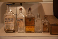 [Apothecary bottles]