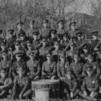 Officers, N.C.O.s and Band - Saskatoon Light Infantry Nov 11, 1930