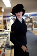 Navy WWII WREN [WRNS uniform]