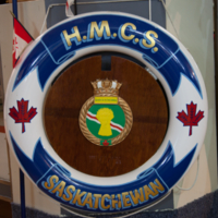 H.M.C.S. Unicorn Saskatchewan [ring buoy]