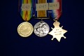 [Campaign medals for service in World War I]