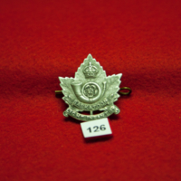 Saskatoon Light Infantry [126th Division cap badge]