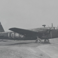 [Wellington Early Twin Engine Bomber]