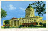 Provincial Parliament Buildings, Winnipeg, Manitoba