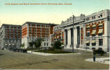 C.P.R. Station and Royal Alexandra Hotel, Winnipeg, Man., Canada