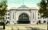 Entrance to Union Depot, Winnipeg, Man.