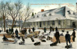 Delivering Fur for the Hudson Bay Coy. at Lower Fort Garry, Manitoba