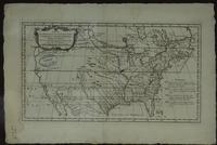 Carte de Prétentions des Anglois dans l'Amerique Septentrionale Suivant leurs Chartres