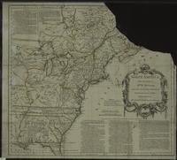 North America From the French of Mr. D'Anville Improved with the Black Settlements of Virginia and Course of Ohio