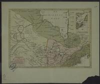 Nieuwe Kaart van Kanada De Landen aan de Hudsons-Baay en de Noordwestelyke deelen van Noord-Amerika