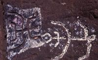 Petroglyphs, west coast