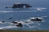 Sea arch from deck