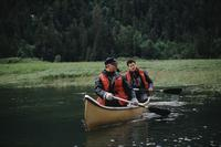 Canoeing in Khutzeymateen Valley