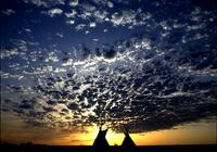 Tipi silhouettes