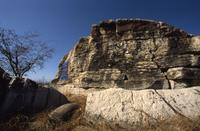 Big Rock west of Watrous