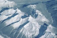 Rocky Mountains - aerial view