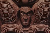 Maori carvings - close-ups